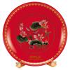 贵阳礼品,和谐美满268元工艺精品 - 红瓷/黄瓷