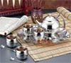 贵阳球王会体育平台,高级不锈钢茶具六件套(银色)955元500元 至 1000元 之间的球王会体育平台