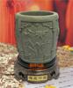 贵阳礼品,梅兰竹菊黄金石原石炭雕笔筒465元工艺精品 - 黄金/渡金