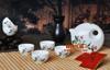 贵阳礼品,骨质瓷茶具七件套1195元工艺精品 - 骨瓷/青花瓷