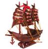 贵阳礼品,进口花梨木三帆船
