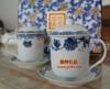 贵阳礼品,青花骨质瓷釉中彩对杯二件套285元工艺精品 - 骨瓷/青花瓷