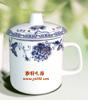 贵阳礼品,青花骨质瓷釉中彩办公单杯225元工艺精品 - 骨瓷/青花瓷