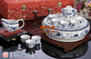 贵阳礼品,汉玉瓷茶具九件套699元工艺精品 - 骨瓷/青花瓷