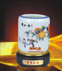 贵阳礼品,骨瓷粉彩旋转笔筒395元工艺精品 - 骨瓷/青花瓷