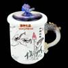 贵阳礼品,琉璃骨瓷套杯685元工艺精品 - 骨瓷/青花瓷