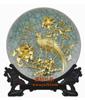 贵阳礼品,前程似锦哥窑盘(漆线雕)3980元2000元 至 9999999元 之间的礼品