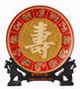 贵阳礼品,十二生肖-寿盘(漆线雕)4880元节日礼品