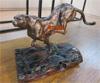 贵阳礼品,纯铜奔豹(驰骋)0元工艺精品 - 仿古铜/树脂