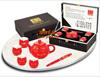 贵阳礼品,骨瓷红瓷唐装六件套695元工艺精品 - 红瓷/黄瓷