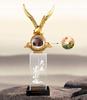贵阳礼品,大展宏图795元工艺精品 - 水晶