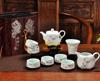 贵阳礼品,雪花釉-方壶10件套(竹报平安)175元80元 至 100元 之间的礼品