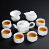 贵阳礼品,象牙白瓷茶具10件套(一叶知春)950元500元 至 1000元 之间的礼品