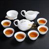 贵阳礼品,象牙白瓷茶具10件套(金猴送福) 950元500元 至 1000元 之间的礼品