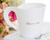 贵阳礼品,一级骨瓷异形咖啡杯