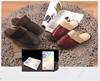 贵阳礼品,真皮毛绒拖鞋二双礼盒0元家居生活礼品 - 其他用品