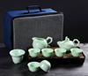 贵阳礼品,龙泉青瓷茶具10件套0元200元 至 300元 之间的礼品