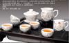 贵阳礼品,骨瓷镂空茶具8件套0元工艺精品 - 精品茶具/杯