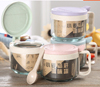 贵阳礼品,小麦玻璃调味罐  0元家居生活礼品 - 厨房用品