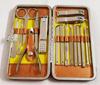 贵阳礼品,橙色方格包修甲+修脚17件组合  0元家居生活礼品 - 美容用品