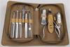 贵阳礼品,木纹皮拉链小司顿9件套  0元家居生活礼品 - 美容用品