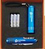 贵阳礼品,蓝色电筒+蓝色军刀三件套