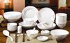 贵阳礼品,低骨瓷餐具62件套0元家居生活礼品 - 餐具/酒具