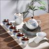 贵阳礼品,999鎏银陶瓷茶具9件套0元工艺精品 - 精品茶具/杯
