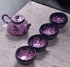 贵阳礼品,原矿土陶瓷茶具5件套0元工艺精品 - 精品茶具/杯