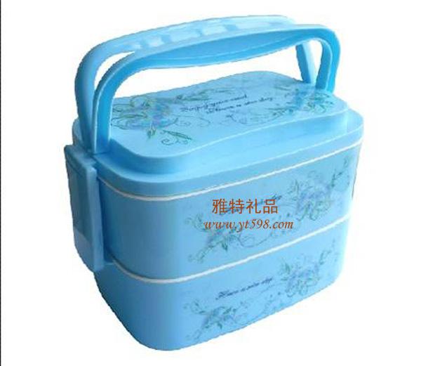 保温容器 长方形双层保温餐盒