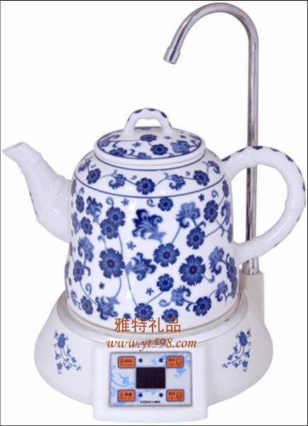 电水壶/茶具 康佳抽水陶瓷电热水壶