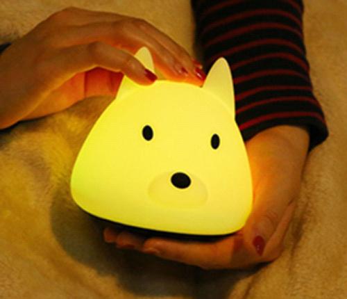 贵阳礼品,充电版旺财硅胶灯