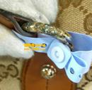 古驰(GUCCI)皮包五金件锈蚀氧化修复对比图