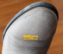 米色靴子补伤去霉斑翻新对比图