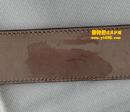 古驰(GUCCI)皮带削薄油边剪短去油污对比图