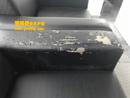 黑色PU革沙发换皮(一个扶手)前后对比图