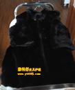黑色貂衣缝内衬保养前后对比图