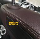 沃尔沃汽车座椅补伤前后对比图(贵阳清镇客人)