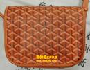 高雅德(GOYARD)橙黄色皮包清洗护理图