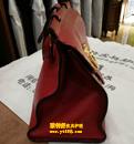 古驰(GUCCI)红色皮包定型护理对比图
