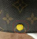 LV手包扣子补伤去染色护理图