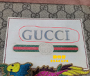 GUCCI双G革标志做坏救治修复