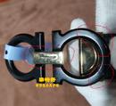 菲拉格幕皮带头金色和黑色磨砂补伤电镀修复