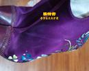 丝绸鞋补伤补色对比图